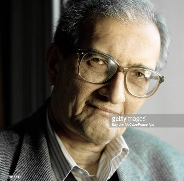 Amartya Sen, Indian economist and philosopher, 15th February 2002.