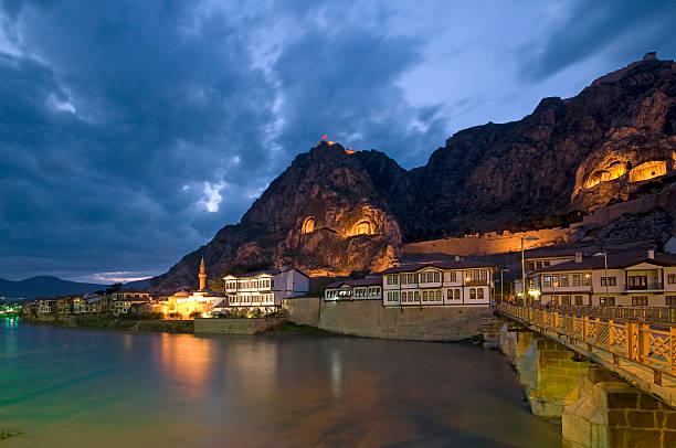 Amasya and Yesilirmak River