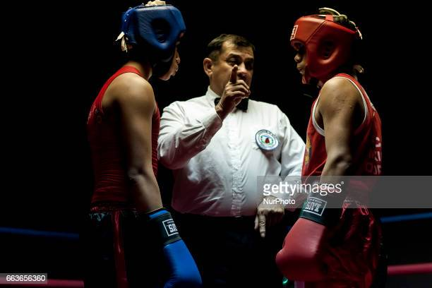Amateur boxing matches were held at the Osorno Club Mexico after the tribute paid to legendary boxer Martin Vargas in Osorno Chile on 31 March 2017