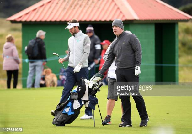 Amateur Cian Foley during Day three of the Alfred Dunhill Links Championship at Carnoustie Golf Links on September 28 2019 in St Andrews United...