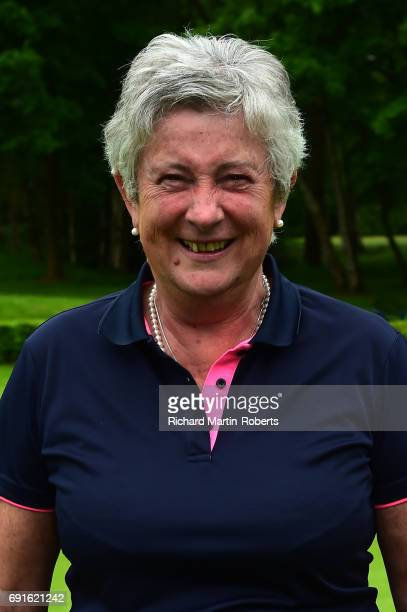 Amateur Kate Brown of Dinsdale Spa GC poses for a portrait following her second lowest round during the Lombard Trophy Women's PGA North Qualifier at...