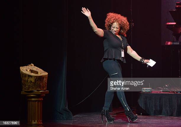 Amateur Night Coordinator Kathy Jordan Sharpton during Amateur Night at The Apollo Theater on March 6 2013 in New York City