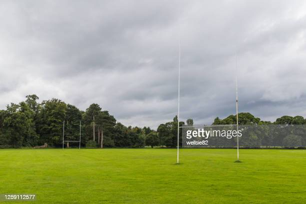 amateur rugby pitch - try scoring stock pictures, royalty-free photos & images