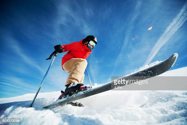 amateur winter sports - ski jumping stock pictures, royalty-free photos & images