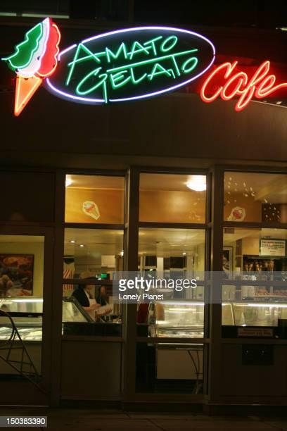 Amato Gelato Cafe at Amato Gelati factory, 88 1st Avenue East, SoMa.