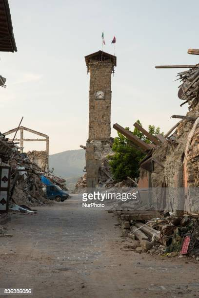 Amatrice and some close towns one year later the earthquake that destroys the city. One year ago, 299 people died as a result of the earthquake of...