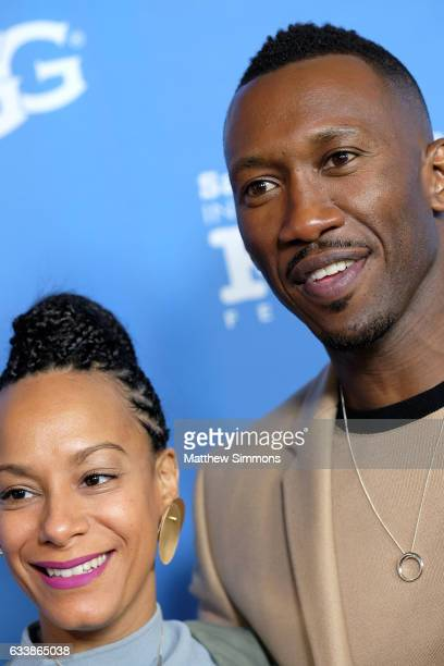 Amatus SamiKarim and actor Mahershala Ali attend the Virtuosos Award presented by UGG during the 32nd Santa Barbara International Film Festival at...