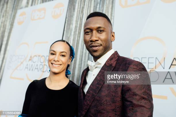 Amatus SamiKarim and Mahershala Ali arrive at the 25th annual Screen Actors Guild Awards at The Shrine Auditorium on January 27 2019 in Los Angeles...