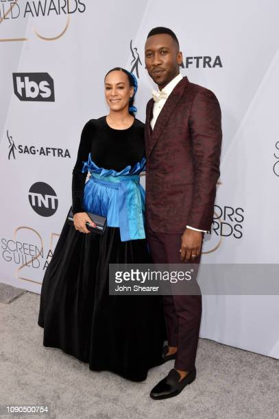 Amatus SamiKarim and Mahershala Ali attend the 25th Annual Screen ActorsGuild Awards at The Shrine Auditorium on January 27 2019 in Los Angeles...