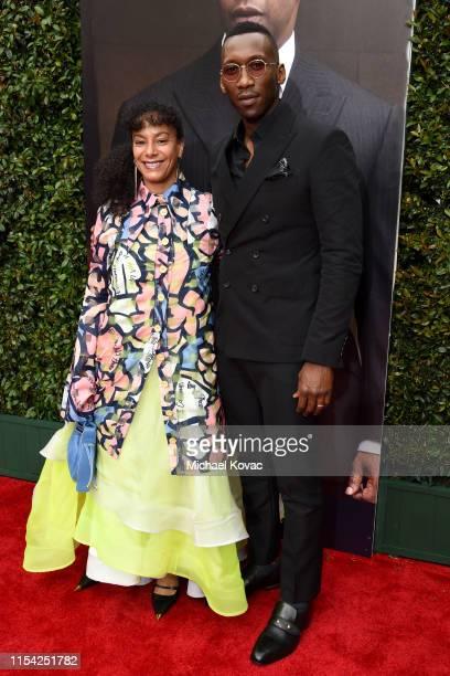 Amatus SamiKarim and Mahershala Ali attend the 47th AFI Life Achievement Award honoring Denzel Washington at Dolby Theatre on June 06 2019 in...