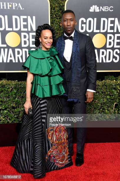 Amatus SamiKarim and Mahershala Ali attend the 76th Annual Golden Globe Awards at The Beverly Hilton Hotel on January 6 2019 in Beverly Hills...