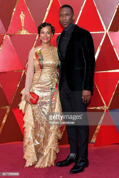 Amatus SamiKarim and Mahershala Ali attend the 90th Annual Academy Awards at Hollywood Highland Center on March 4 2018 in Hollywood California