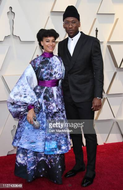 Amatus Sami-Karim and Mahershala Ali attend the 91st Annual Academy Awards at Hollywood and Highland on February 24, 2019 in Hollywood, California.