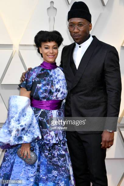 Amatus Sami-Karim and Mahershala Ali attends the 91st Annual Academy Awards at Hollywood and Highland on February 24, 2019 in Hollywood, California.
