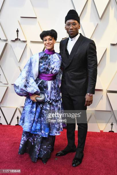 Amatus SamiKarim and Mahershala Ali attends the 91st Annual Academy Awards at Hollywood and Highland on February 24 2019 in Hollywood California