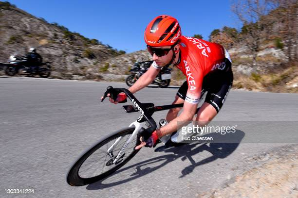 Amaury Capiot of Belgium and Team Arkéa - Samsic during the 53rd Tour Des Alpes Maritimes Et Du Var, Stage 3 a 134,7km stage from Blausasc to...