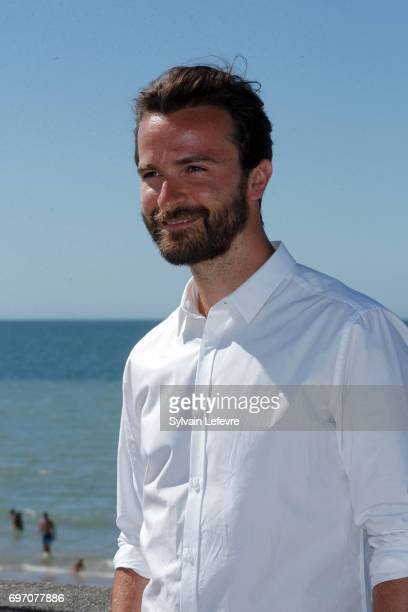 Amaury de Crayencour attends 'Les ex' photocall during 4th day of 31st Cabourg Film Festival on June 17 2017 in Cabourg France