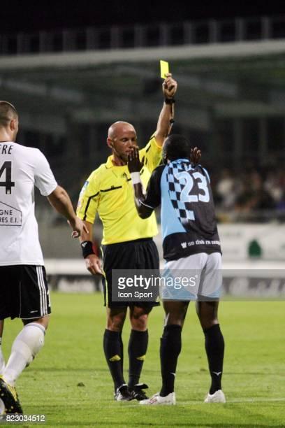 Amaury DELERUE / Expulsion de Bocundji CA Vannes / Tours 8eme journee de Ligue 2 Stade de la Rabine Vannes