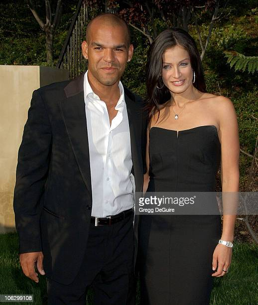 Amaury Nolasco and Dayanara Torres during Sixth Annual Chrysalis Butterfly Ball Arrivals at Home of Susan Harris Hayward Kaiser in Mandeville Canyon...