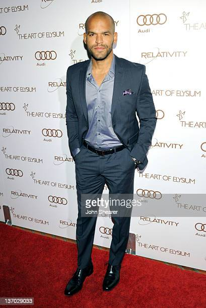 Amaury Nolasco arrives at Audi presents The Art of Elysium's 5th annual HEAVEN at Union Station on January 14, 2012 in Los Angeles, California.