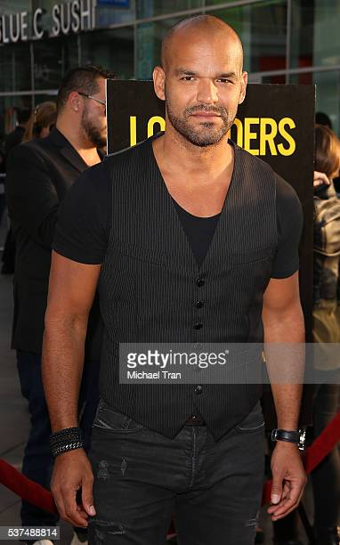 """Amaury Nolasco arrives at the 2016 LA Film Festival opening night premiere of """"Lowriders"""" held at ArcLight Cinemas on June 1, 2016 in Hollywood,..."""