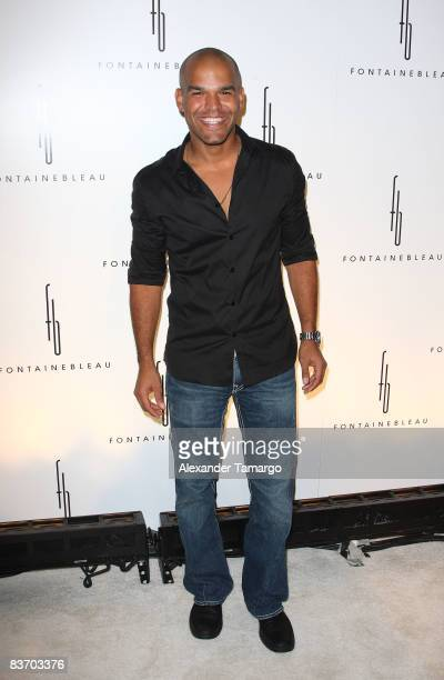 Amaury Nolasco arrives for the grand opening of Fontainebleau Miami Beach on November 14, 2008 in Miami Beach, Florida.