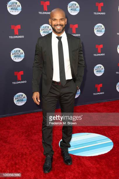 Amaury Nolasco attends the 2018 Latin American Music Awards at Dolby Theatre on October 25 2018 in Hollywood California