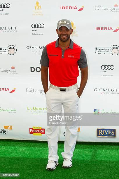 Amaury Nolasco attends the Global Gift Celebrity Golf Tournament to help raise money for The Eva Longoria Foundation and The Bertin Osborne...
