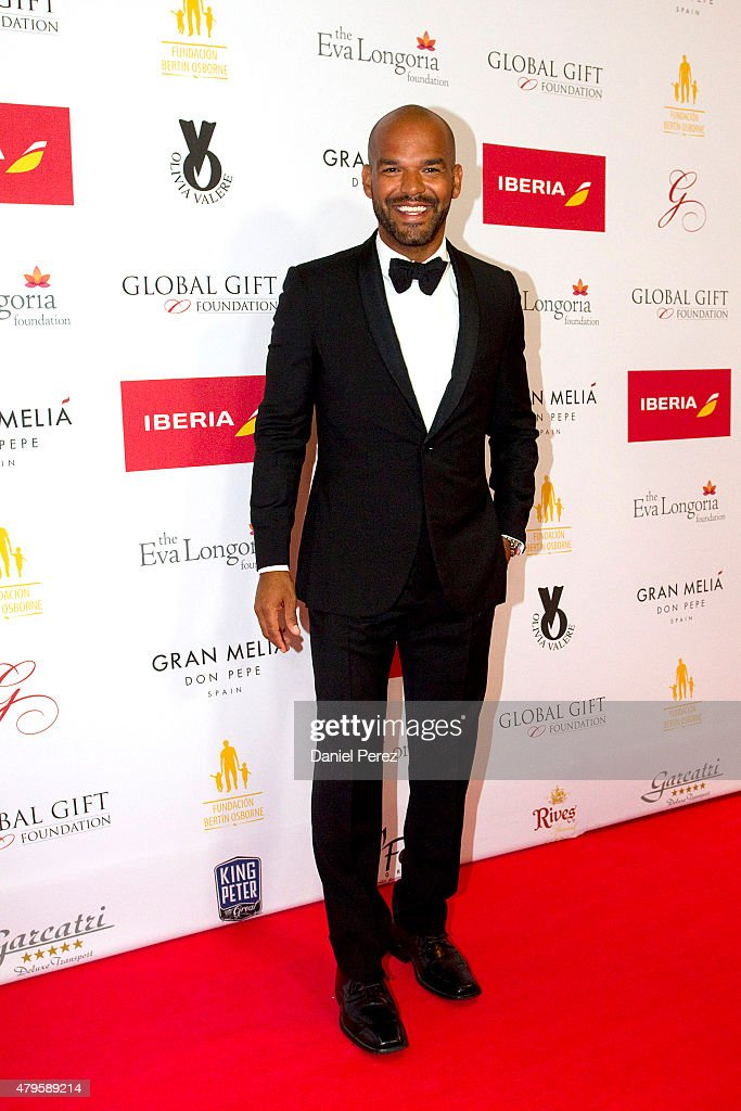 Amaury Nolasco attends the Global Gift Gala 2015 red carpet at Gran Melia Don pepe Resort on July 5, 2015 in Marbella, Spain.