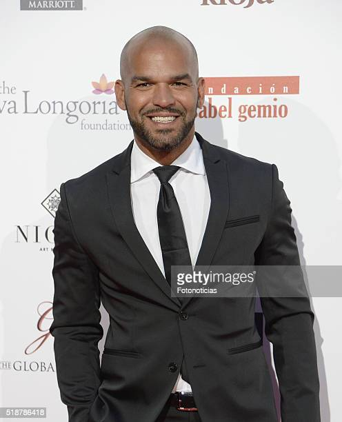 Amaury Nolasco attends the Global Gift Gala at the Palacio de Cibeles on April 2, 2016 in Madrid, Spain.