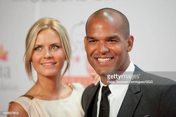 Amaury Nolasco attends the Global Gift Gala held to raise benefits for Cesare Scariolo Foundation and Eva Longoria Foundation on August 19, 2012 in...