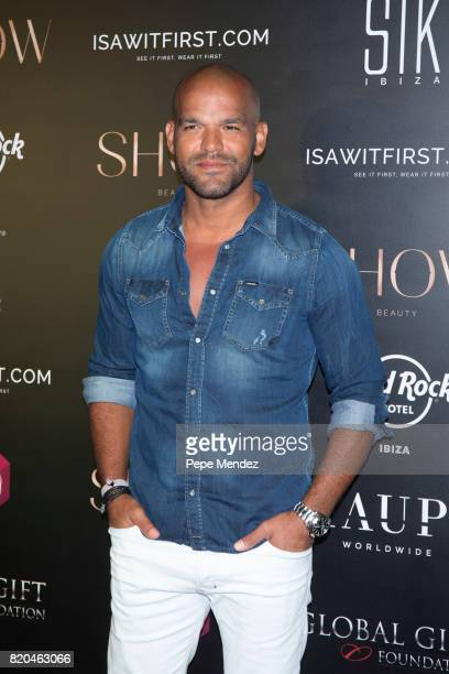 Amaury Nolasco attends the Global Gift Gala party at STK Ibiza on July 21 2017 in Ibiza Spain