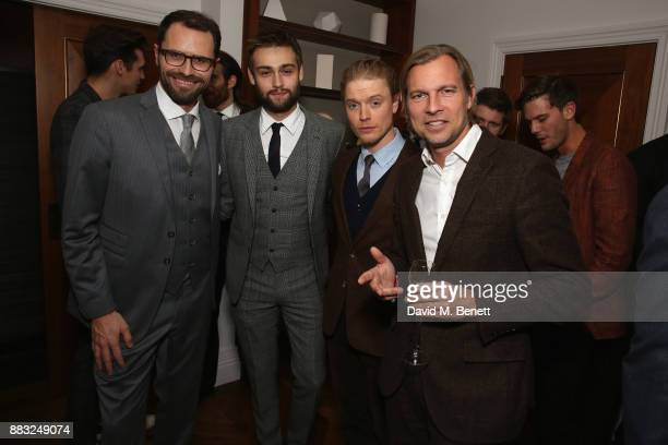Amaury Vinclet Douglas Booth Freddie Fox Ludovic du Plessis attend as LOUIS XIII and Dylan Jones GQ Editor in Chief cohost Intimate Dinner...