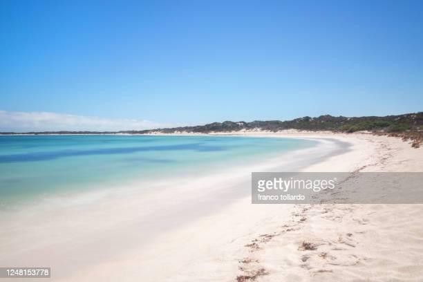 amazing and unknowed beach in western australia - western australia imagens e fotografias de stock
