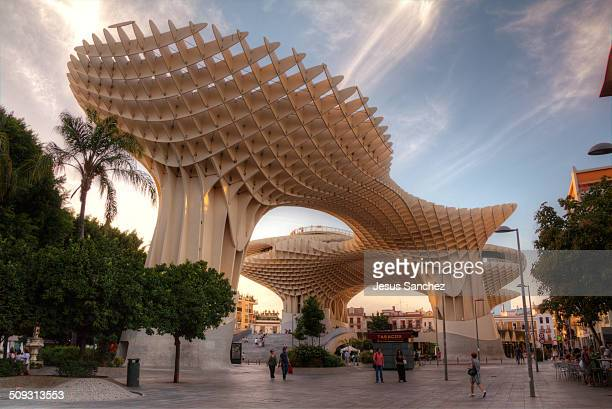 Amazing building by Jurgen Mayer in Sevilla