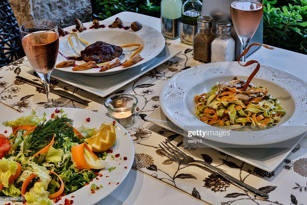 Magnífica cena en la costa mediterránea : Foto de stock