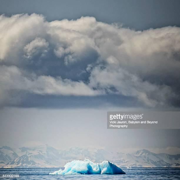 Amazing Iceberg and Cloud in Alaska