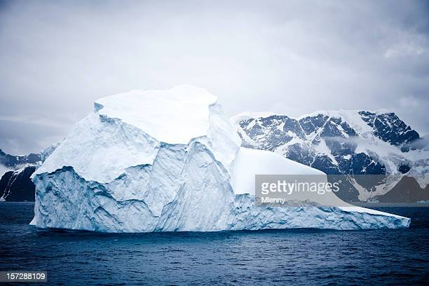 amazing iceberg - south pole stock pictures, royalty-free photos & images