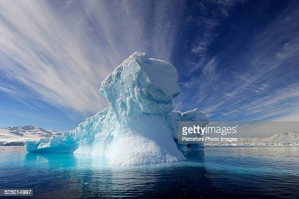 amazing iceberg - berg stock pictures, royalty-free photos & images