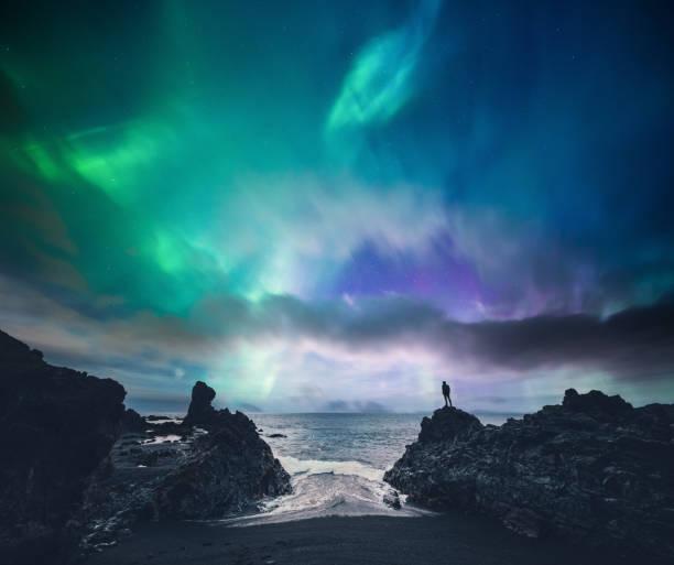 amazing iceland - horizontal stock pictures, royalty-free photos & images