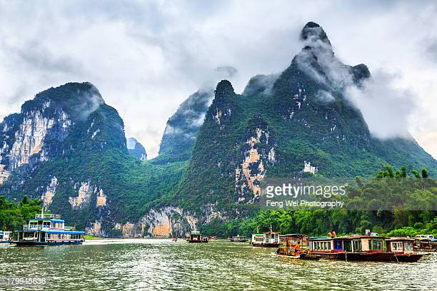 Amazing Landscape By Li River, Yangshuo, Guangxi C