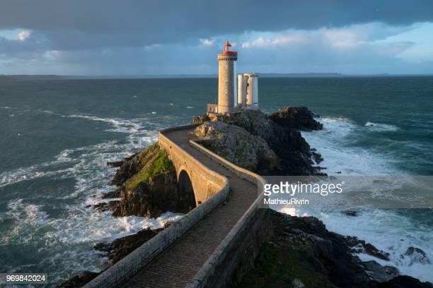 "Amazing light on ""Petit Minou"" lighthouse in Bretagne"