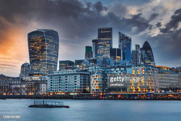 amazing london skyline - 2020 stock pictures, royalty-free photos & images