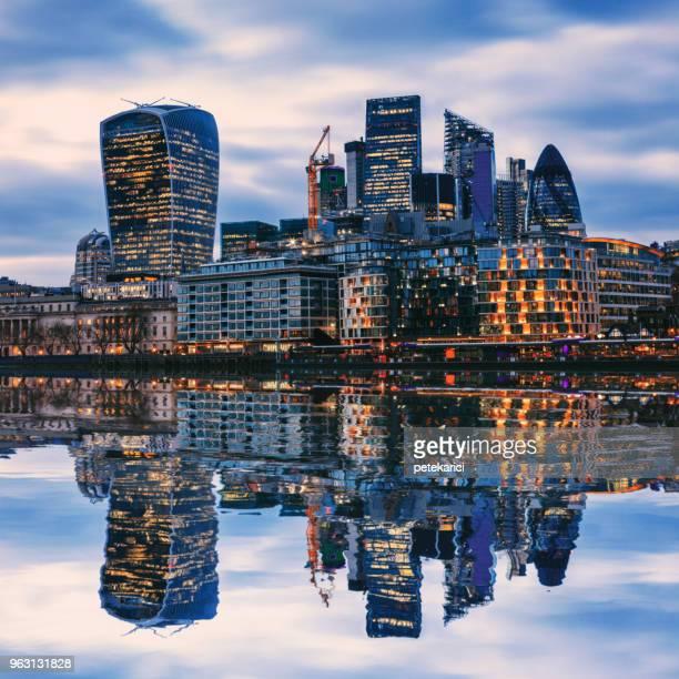 Amazing London skyline