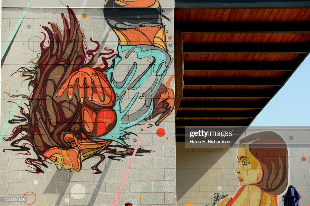 Denvers Urban Art Fests Crush Walls Pictures Getty Images
