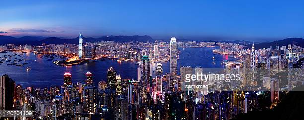 香港、九龍の夜景