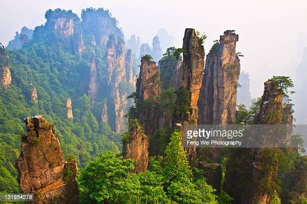 Amazing scenary of Prince (Tianzi) mountain, China