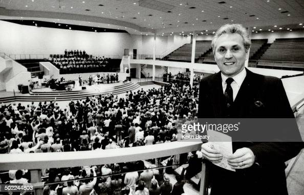 Rev. Ralph Rutledge; of Queensway Cathedral; is the proud ...