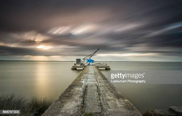 Amazing Sunrise Pier