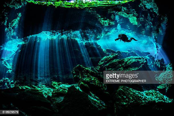 amazing underwater locations - yucatan peninsula stock pictures, royalty-free photos & images